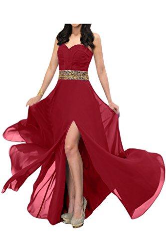 Missdressy -  Vestito  - linea ad a - Donna rosso vivo 2 mesi