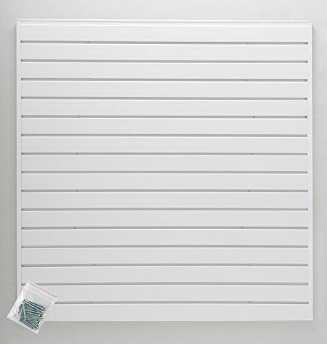 (Jifram 01000789 Easy Living EasyWall Slat Wall Kit, White)