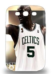 Galaxy Skin 3D PC Case Cover For Galaxy S3 Popular NBA Boston Celtics Kevin Garnett #5 Phone 3D PC Case ( Custom Picture iPhone 6, iPhone 6 PLUS, iPhone 5, iPhone 5S, iPhone 5C, iPhone 4, iPhone 4S,Galaxy S6,Galaxy S5,Galaxy S4,Galaxy S3,Note 3,iPad Mini-Mini 2,iPad Air )
