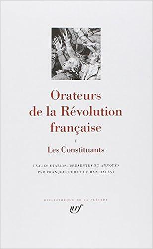 Téléchargement Orateurs de la Révolution Française pdf, epub