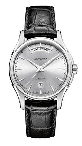 Hamilton H32565735 - Reloj, correa de cuero color negro