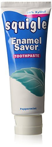 Squigle - Squigle Toothpaste ,Peppermint,4 ounce (Pack of 2)