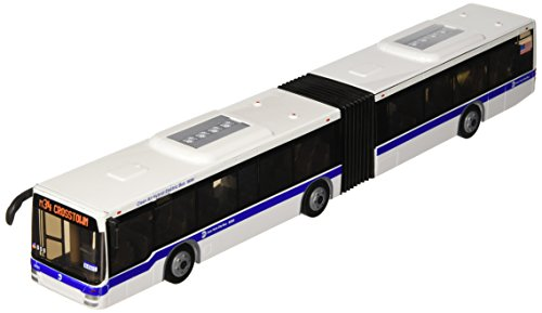 Daron-RT8563-New-York-City-MTA-Metro-Articulated-Hybrid-Electric-Bus-143-Scale-16-Inches-long