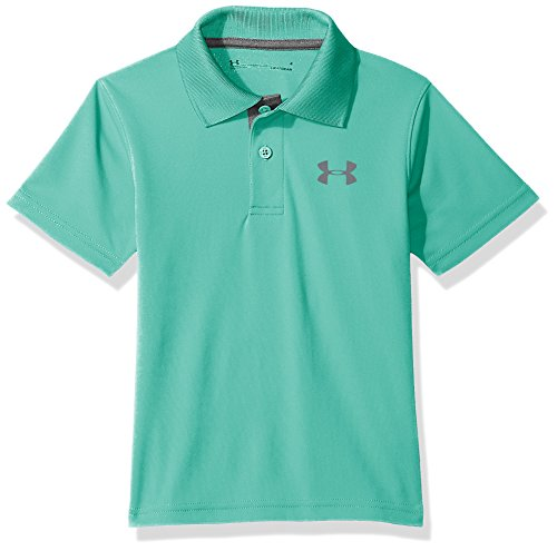 Under Armour Toddler Boys' UA Match Play Polo, Teal Punch, 3T