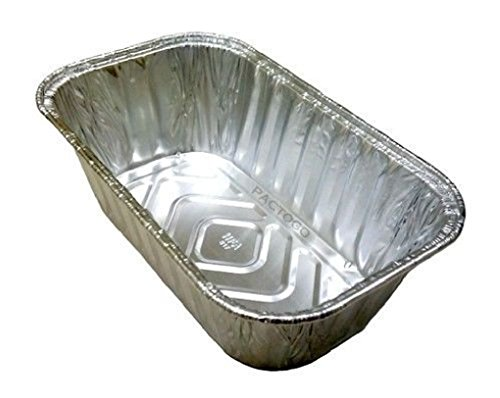 1 lb. Disposable Aluminum Foil Mini-Loaf/Bread Pan Baking Tin 400's by Osislon Series