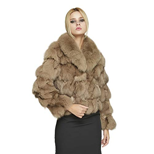 Women's Fur Coat for Winter Short Warm Fur Jacket with for sale  Delivered anywhere in USA