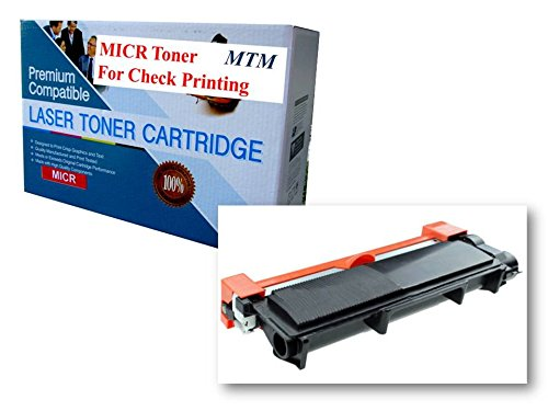 MICR TONER MART Compatible MICR Toner for Check Printing TN-6300 / TN630 HL-2340DW HL-2380DW HL-2300D DCP-L2540DW DCP-L2520DW MFC-L2700DW MFC-L2740DW MICR Toner Cartridge