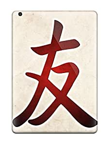 New EDUaomX8163IhknQ Chinese Symbol For Friend pc Cover Case For Ipad Air