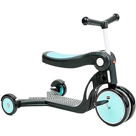 ZAQ Patinete Azul para niños - Bicicleta de bebé para Regalo ...