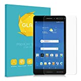 Fintie AT&T Trek 2 HD Tempered Glass Screen Protector [Scratch Resistant] Premium HD Clear [9H Hardness] for 8 Inch Trek 2 HD (Model 6461A/K88) Tablet