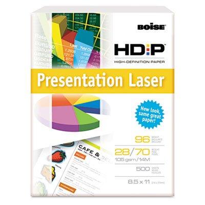 """BOISE POLARIS Premium Laser Paper, 8 1/2""""x11"""", Hole Punch, 98 Bright White, 24 lb (BPL-0111P-PLT)"""