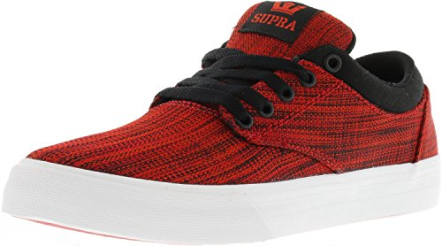 Black White Chino Men's Supra Red Footwear Shoes TvWzqw