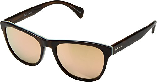Paul Smith Unisex Hoban Deluxe Artists Stripe/Pink Mirror - Women Smith Sunglasses Paul