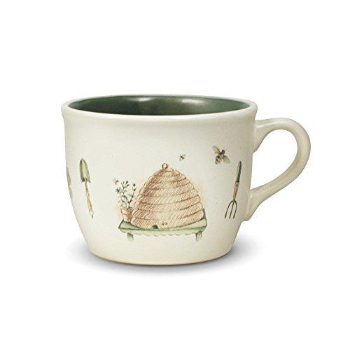 Pfaltzgraff Naturewood Cup - Pfaltzgraff Naturewood Soup Mug, 24-Ounce