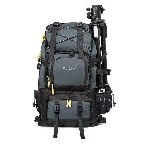 Camera Backpack Waterproof & Laptop Travel Backpack Gadget Bag/Rain Cover for Digital Cameras, 17inch Laptop, Tablet, Lens Kit for Full Frame Mirrorless Digital Camera