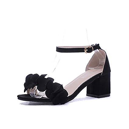 Chaussures femmes Sandales confort ZHZNVX en d'été EHID92