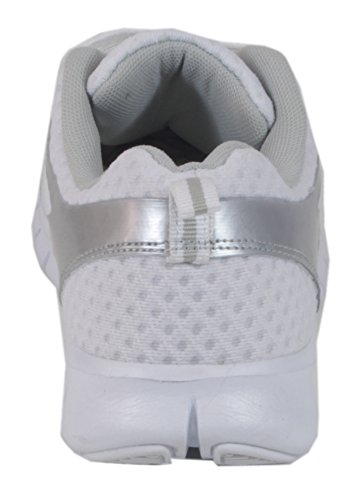 Plateado Material Caña Taschentrend Baja Blanco Y Sintético De Unisex Px8aw8t