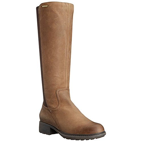 First Street Leather - Rockport Women's First Street Waterproof Gore Tall Boot - Wide Calf B Cake Waxy Pull Waterproof WL WC Boot 6.5 M