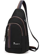 Wind Took Brusttasche Sling Rucksack Umhängetasche Schultertasche Crossbody Bag Schleuder Tasche Reise Daypack Sporttasche für Damen und Herren