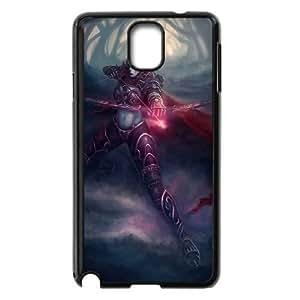 Samsung Galaxy Note 3 Black phone case world of warcraft lady WLC4307024
