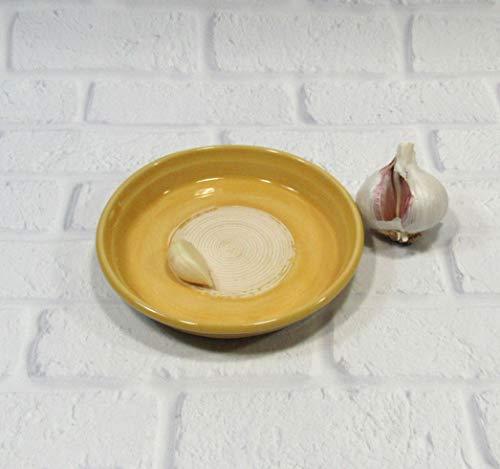 Ceramic Garlic Grating Dish ()