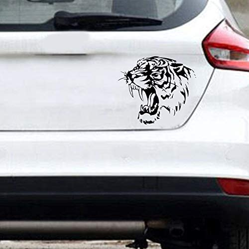 N//V reflectante coche pegatinas tigre cabeza cap/ó del coche y motocicleta lado coche pegatinas coche styling Accesorios