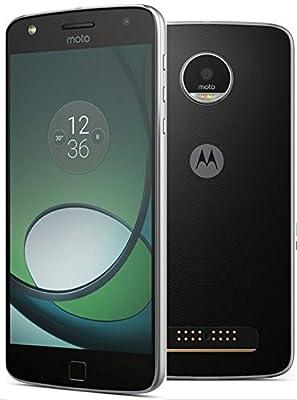 "MOTO Z PLAY (32GB) 5.5"" - 4G LTE Factory Unlocked GSM (International Model) BLACK"