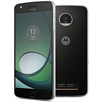 "Motorola MOTO Z PLAY (XT1635) Factory Unlocked Phone - 5.5"" Screen - 32GB - Black (International Version - No Warranty)"