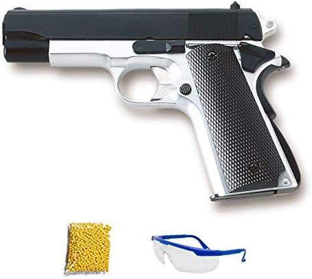 HFC HA-102 MIXTO. Pistola de Airsoft Calibre 6mm (Arma Aire Suave de Bolas de plástico o PVC). Sistema: Muelle. <3,5J
