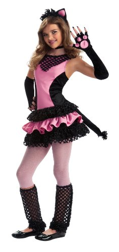 Rubie's Drama Queens Tween Black Kitty Costume - Tween Medium (2-4)