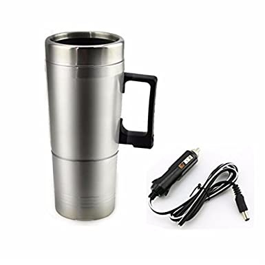 Amazon.com: 12V 300ml Portable in Car Coffee Maker Tea Pot Vehicle Thermos Heating Cup Lid - Car Electronics - Car Electronic Gadgets: Cell Phones & ...