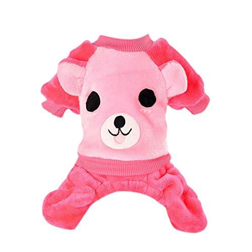 Small Dog Flannel Pajamas - Crazy Flannel Pajamas