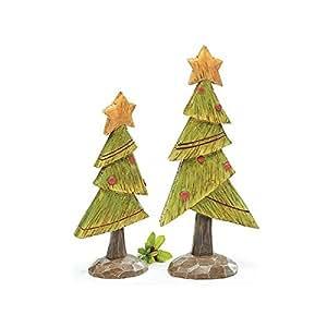 Decoraci n de navidad de resina pintada a mano del rbol for Amazon decoracion navidad