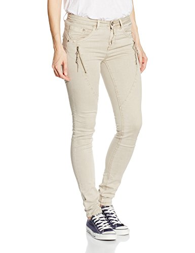 Mujer Gray Shape nature Twill Pantalones Cream Bibiana 61233 Para Gris Eq8XWw