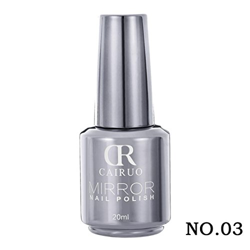 Hot Sale CR Metallic Nail Polish Magic Effect Nail Art Mirro