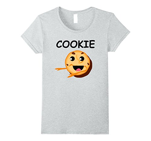 Womens Matching Halloween Shirt Milk and COOKIES Costume for Couple Small Heather - Matchy Matchy Fashion