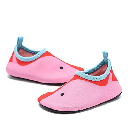 DREAM KIDS Swimming Water Shoes Boys&Girls Aqua Barefoot Quick-Dry Sock for Beach Pool Surfing Yoga(Toddler,Little Kid)