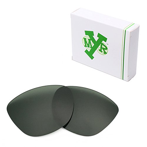 Mryok Polarized Replacement Lenses for Oakley Frogskins - Grey Green by Mryok