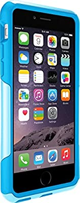 OtterBox COMMUTER Thin Lightweight 2-piece Case for iPhone 6/6s - Frustration-Free Packaging - Aqua Sky (Aqua Blue/Light Teal) by OtterBox