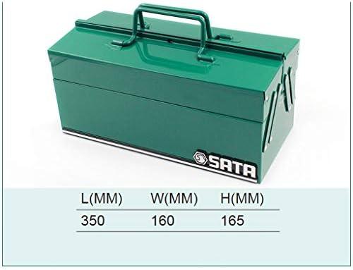 HLD ハードウェアツールボックス3層折りたたみスーツケース三ダンプボックス電気工事ストレージボックス ツールボックス