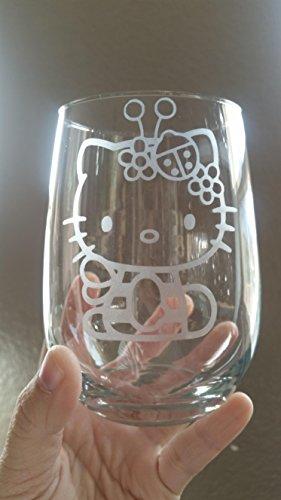hello-kitty-inspired-stemless-wine-glass-white-wine-red-wine-glass