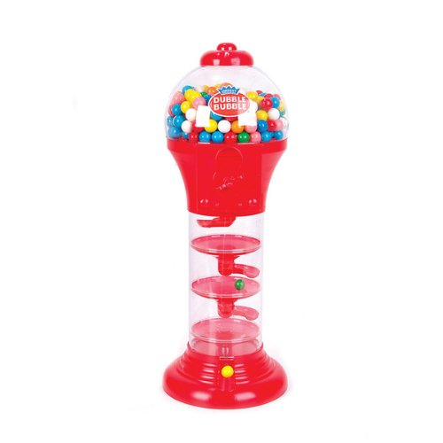 (Rhode Island Novelty Spiral Fun Gumball Bank, Red or Blue, 18