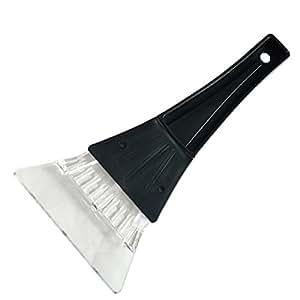 Top Cheer 1pcs Mini espátula de plástico para retirar la nieve nieve pala herramienta limpiador para vehículo coche parabrisas Windows