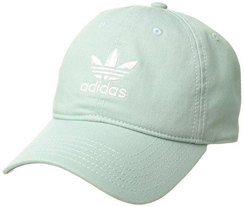 adidas Women's Originals Relaxed Fit Strapback Cap, Green/White, One Size