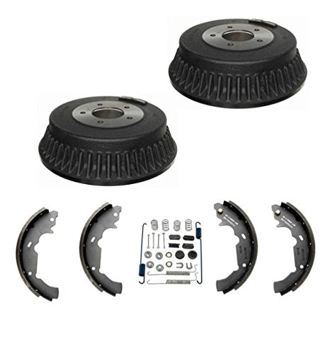 Brakes Nissan Quest - 100% New Rear Drums Brake Shoes and Brake Spring Kit for Nissan Quest 1993-2002