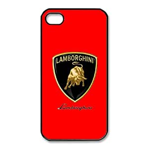 Custom Case Sports car logo For iPhone 4,4S U2W7Q3329