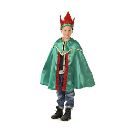 King Balthazar (Green) - Kids Costume 5 - 7 years by A2Z Kids (King Balthazar Costume)