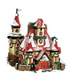 Department 56 North Pole Series: Route 1, North Pole, Home Of Mr. & Mrs. Claus 56391