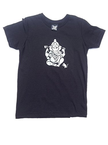 YoungPunks Little Boys Ganesh T Shirt Toddler 2T Black