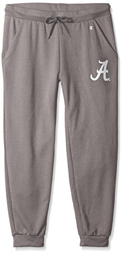 NCAA Alabama Crimson Tide Adult Women NCAA Women's Cool Down Pant,Large,Titanium Alabama Pants